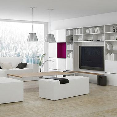 C mo decorar el living de tu casa sin gastar mucho dinero for Como decorar un departamento moderno