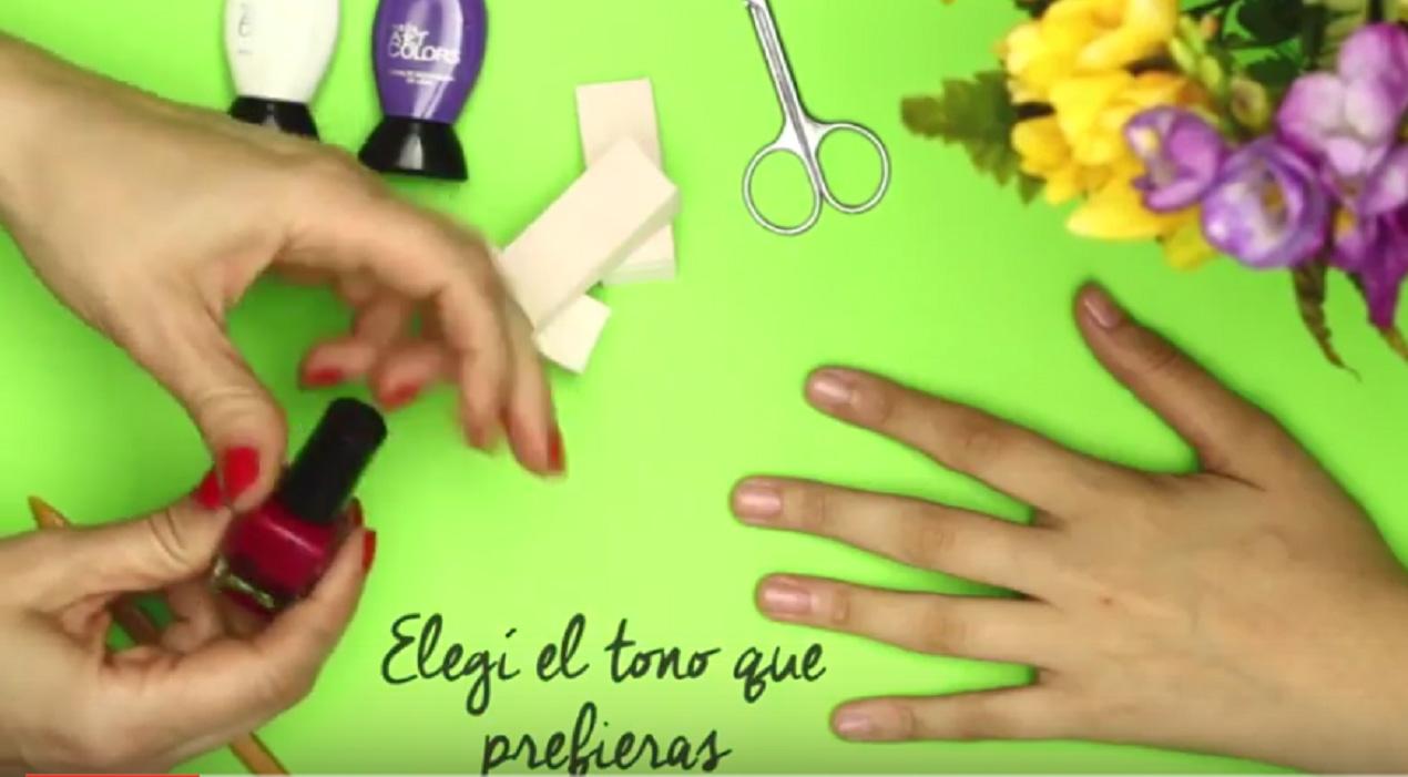 Increíble Uñas Franceses Rosados Imágenes - Ideas de Pintar de Uñas ...